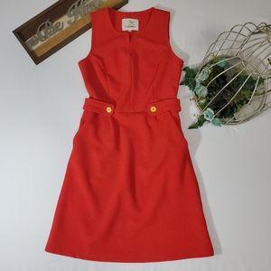 Tabitha Textured Ponte Shift Dress